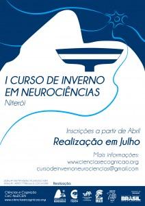 I Curso de Inverso de Neurociências será realizado em julho de 2015