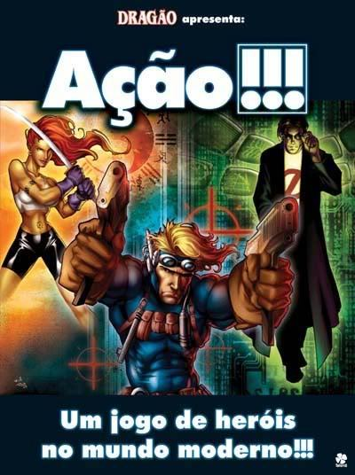 Capa do sistema de RPG Ação!!!