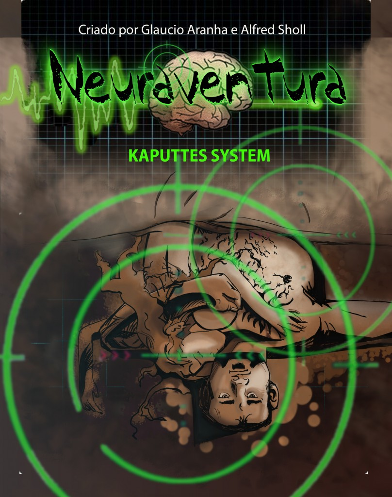 Neuraventura - Guerra de Nervos - #1 Kaputtes System - capa