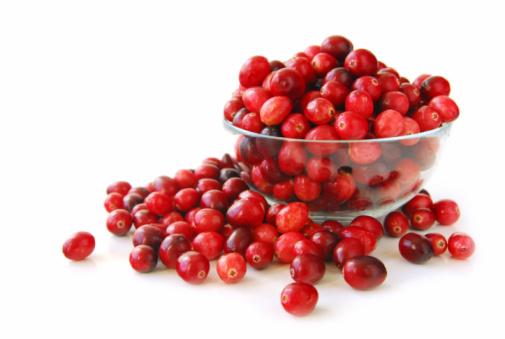 Cranberries ((Oxycoccus palustris, em português:oxicoco, ou arando vermelho)
