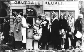 O inverno da fome-Hongerwinter-Holanda, 1945