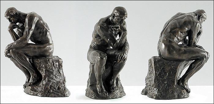 O pensador-por Auguste Rodin