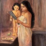 Mother_and_a_child_miniature_painting