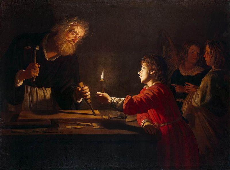 Gerrit_van_Honthorst_-_Childhood_of_Christ_-