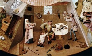 Early-Netherlandish-Painter-Hieronymus-Bosch-The-Seven-Deadly-Sins-detail-3-Oil-Painting