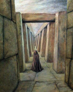 stone_corridor_under_sky_painting_and_corridor_poem