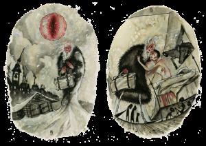 O médico rural-ilustração de Anja Uhren