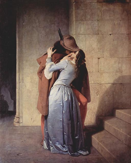 O Beijo_ de Francesco Hayez, Pinacoteca di Brera