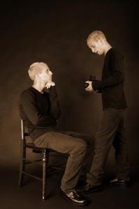 Self protrait by Haje Jan Kamps