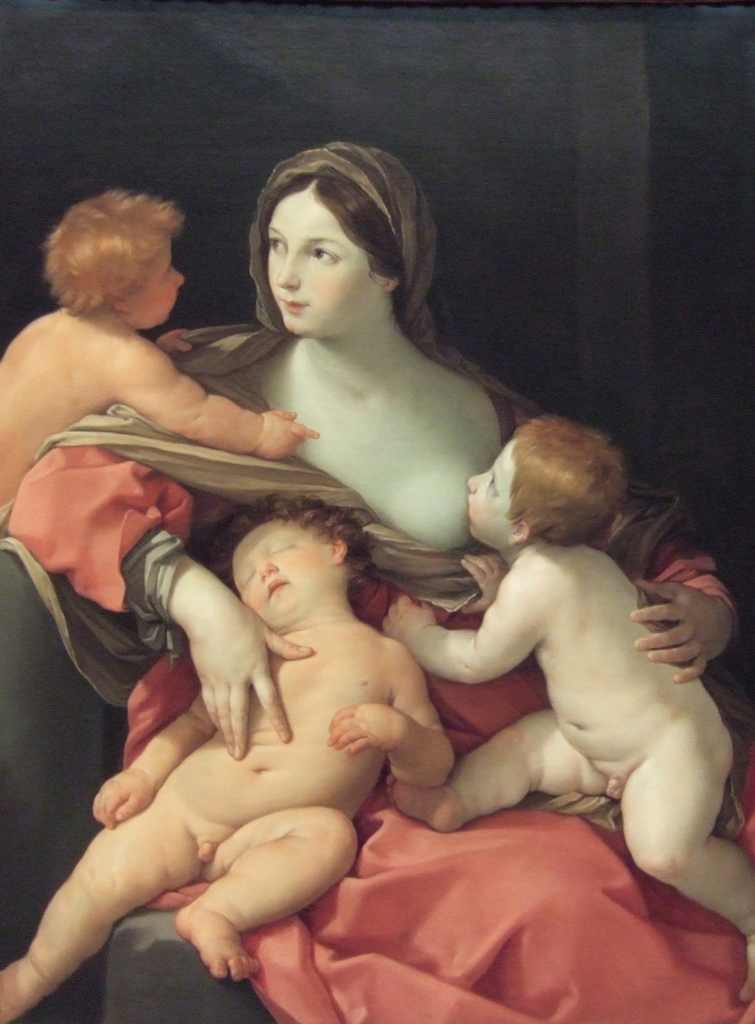 Charity by Guido Reni