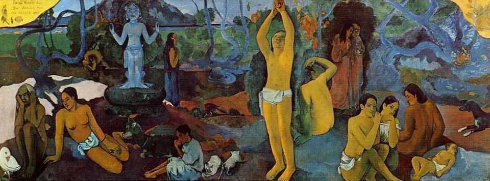 De onde viemos? Quem somos? Para onde vamos?-Paul Gauguin