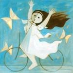 CHILDREN menina-e-bicicleta-de-1965-milton-dacosta