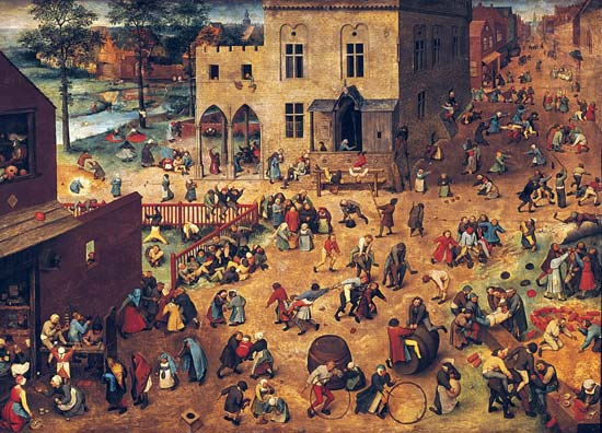 Children's Games (1559) by Pieter Bruegel the Elder