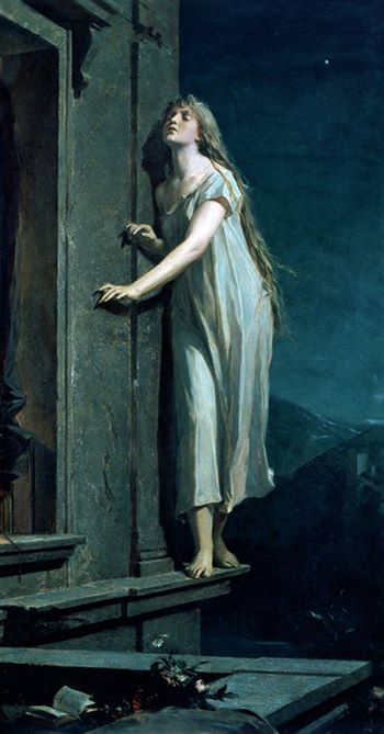 MAXIMILIAN PIRNER, 1878-The sleepwalker