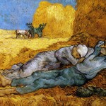 A sesta-Van Gogh-1890