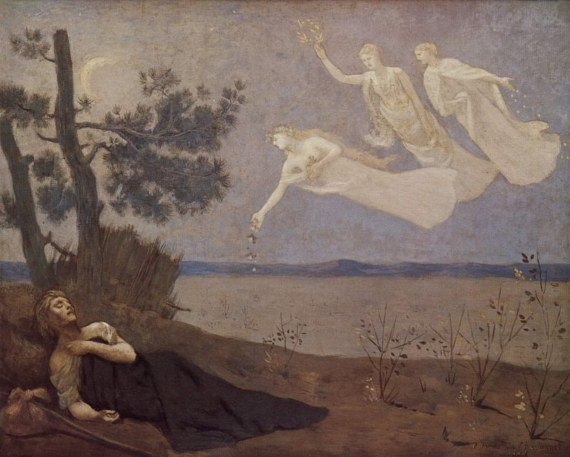"Figura 1_ ""O Sonho"" de Pierre Puvis de Chavannes (1883)"