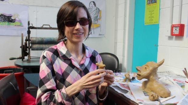 Escultora cega de Auckland, Juliet Jackson