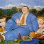 O cochilo, por Fernando Botero