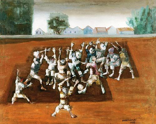 Cândido Porrtinari-futebol, -1958