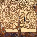 Árvore da vida-por Gustave Klimt