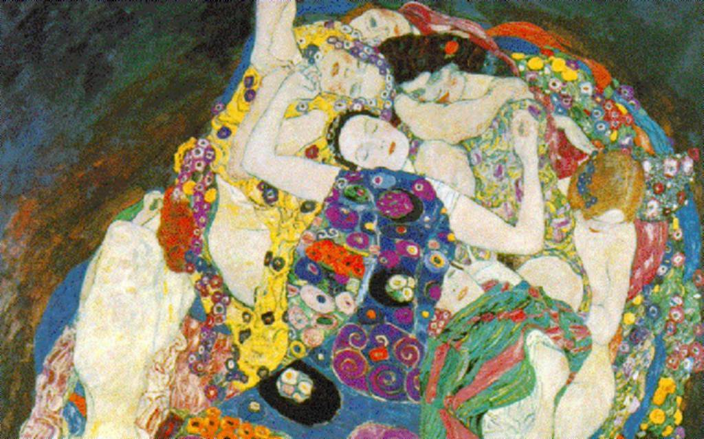 Virgem-por Gustave Klimt