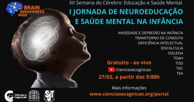 I Jornada de Neuroeducação e Saúde Mental na Infância