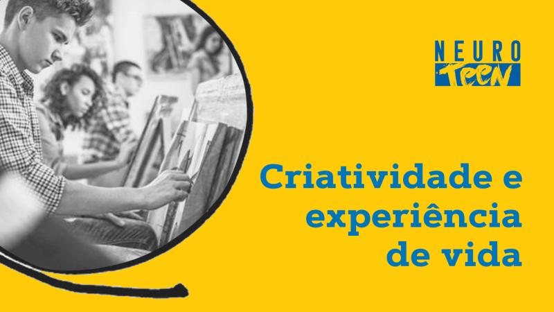 Criatividade e experiência de vida