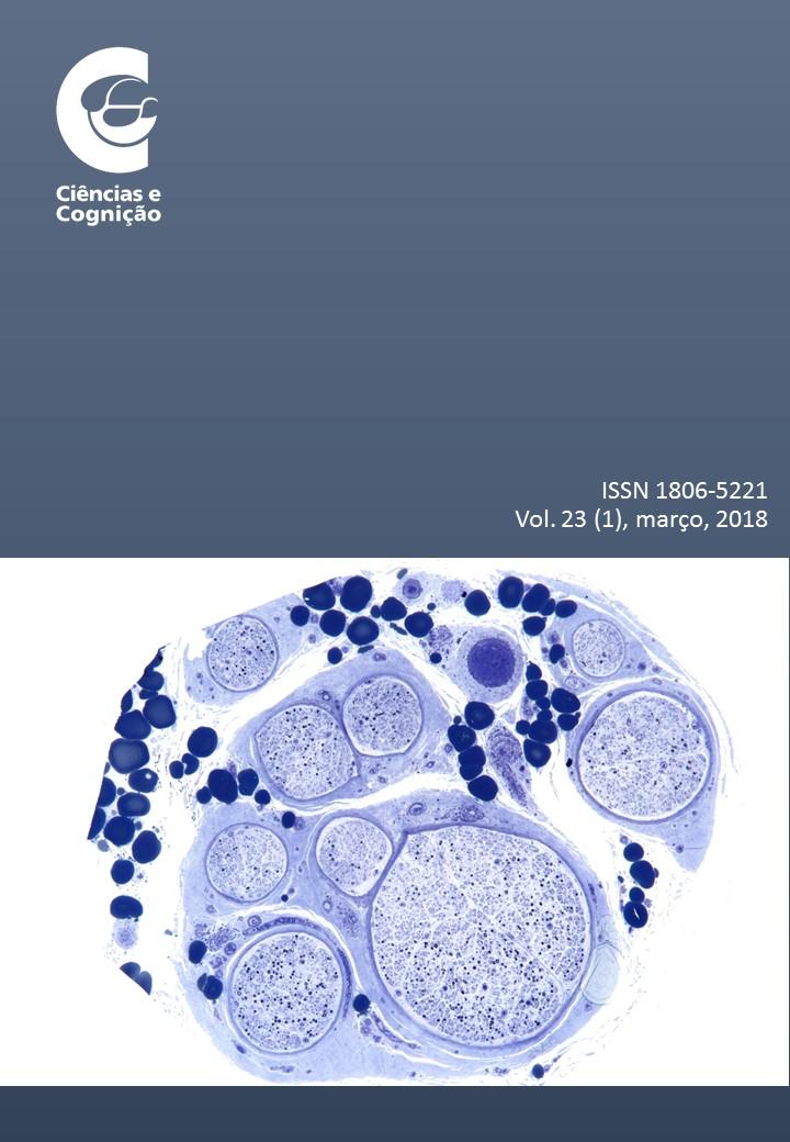Ciências e Cognição, volume 23, fascículo 1, 2018
