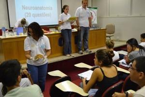 Prova de neuroanomia, na Olimpíada de Neurociências do Rio de Janeiro (2015).